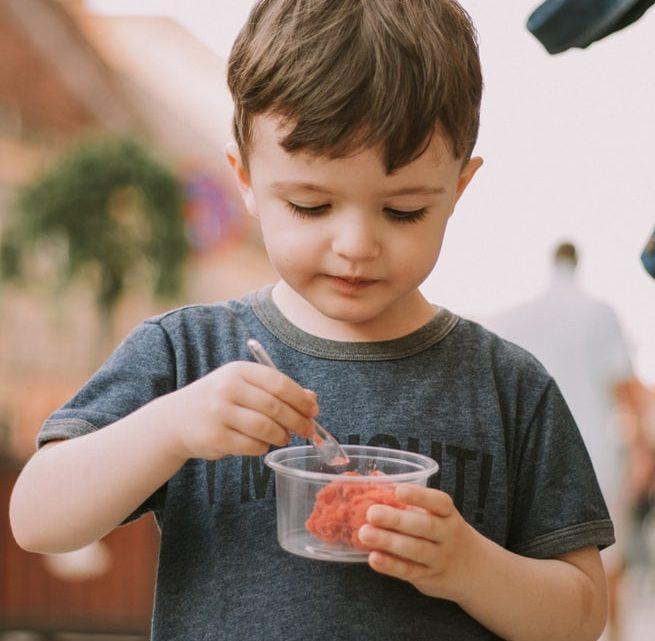 Apprenez à manger sainement avec vos enfants!