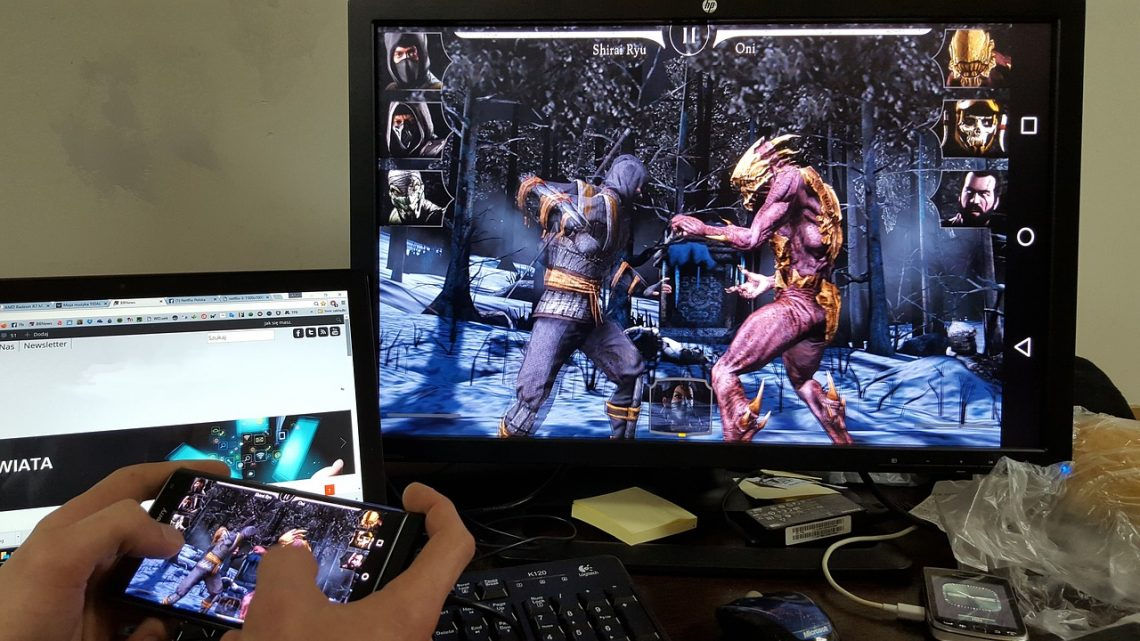 Le gaming dans nos smartphones